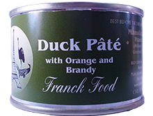 Franck Food Duck Pate with Orange & Brandy