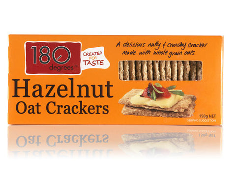Crackers - Hazelnut Oat