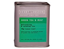 Henry Langdon Green Tea & Mint