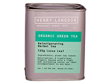 Henry Langdon Organic Green Tea