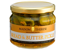 Maison Therese Bread & Butter Pickles