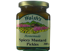 Walsh's Homemade Spicey Mustard Pickles