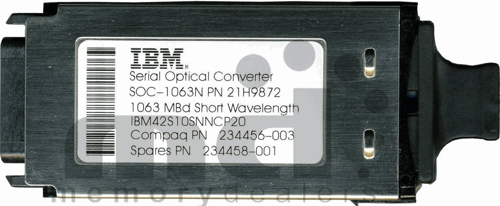 IBM 10011 (IBM Original, Compatible with Extreme Networks) GBIC Transceiver Module