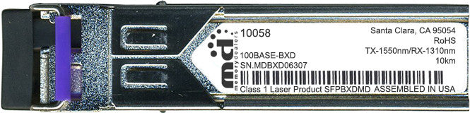Extreme Networks 10058 (100% Extreme Networks Compatible) SFP Transceiver Module