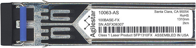 Extreme Networks 10063-AS (Agilestar Original) SFP Transceiver Module