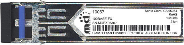 Extreme Networks 10067 (100% Extreme Networks Compatible) SFP Transceiver Module