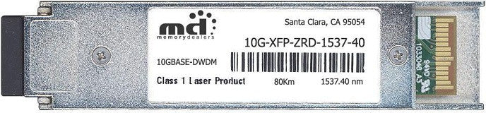 Foundry Networks 10G-XFP-ZRD-1537-40 (100% Foundry Compatible) XFP Transceiver Module