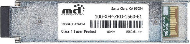 Foundry Networks 10G-XFP-ZRD-1560-61 (100% Foundry Compatible) XFP Transceiver Module