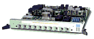 Hardware 10X1GE-SFP-LC - 10-Port 1-Gigabit Ethernet Line Card Network Modules Transceiver Module