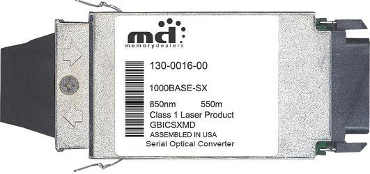 McAfee 130-0016-00 (100% McAfee Compatible) GBIC Transceiver Module