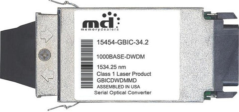 Cisco GBIC Transceivers 15454-GBIC-34.2 (100% Cisco Compatible) GBIC Transceiver Module