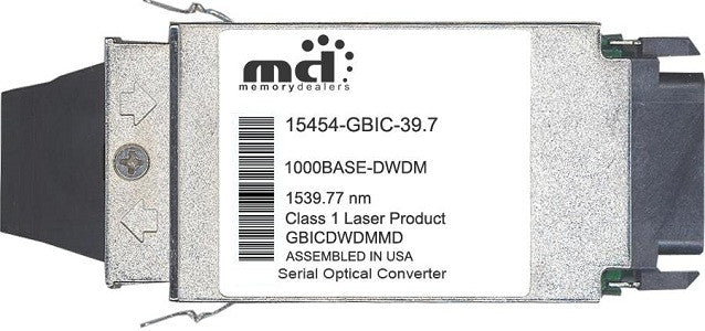 Cisco GBIC Transceivers 15454-GBIC-39.7 (100% Cisco Compatible) GBIC Transceiver Module