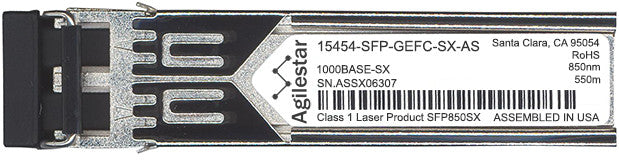 Cisco SFP Transceivers 15454-SFP-GEFC-SX-AS (Agilestar Original) SFP Transceiver Module