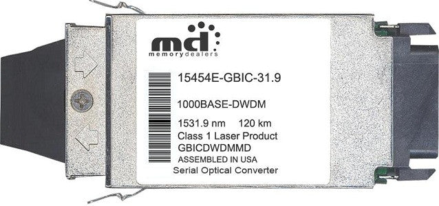 Cisco GBIC Transceivers 15454E-GBIC-31.9 (100% Cisco Compatible) GBIC Transceiver Module