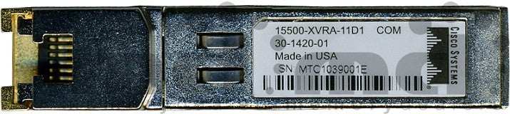Cisco SFP Transceivers 15500-XVRA-11D1 (Cisco Original) SFP Transceiver Module