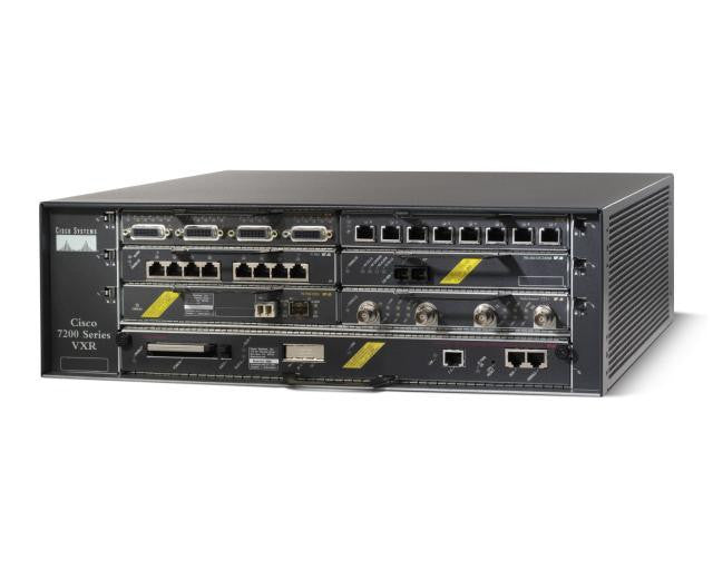 Hardware CISCO7206VXR-CH - Cisco 7206, EN, Fast EN, Gigabit EN, VXR Router Chassis Cisco Router Transceiver Module
