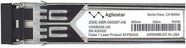 Brocade 200E-XBR-000097-AS (Agilestar Original) SFP Transceiver Module