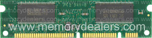 Memory 32MB Memory Dealers, Cisco 1700 Series 3rd Party SDRAM DIMM (p/n: MEM1700-32D) Router Memory Transceiver Module