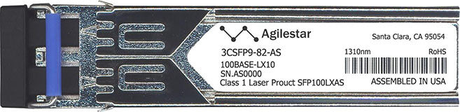 3Com 3CSFP9-82-AS (Agilestar Original) SFP Transceiver Module