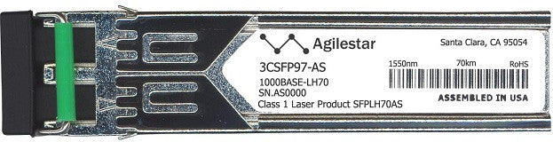 3Com 3CSFP97-AS (Agilestar Original) SFP Transceiver Module