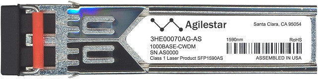 Alcatel SFP Transceivers 3HE00070AG-AS (Agilestar Original) SFP Transceiver Module
