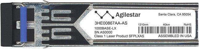 Alcatel SFP Transceivers 3HE00867AA-AS (Agilestar Original) SFP Transceiver Module