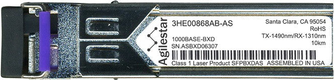Alcatel SFP Transceivers 3HE00868AB-AS (Agilestar Original) SFP Transceiver Module