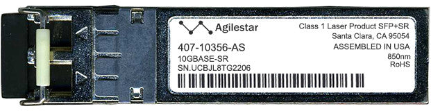 Dell 407-10356-AS (Agilestar Original) SFP+ Transceiver Module