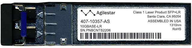 Dell 407-10357-AS (Agilestar Original) SFP+ Transceiver Module