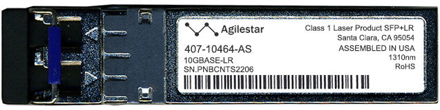 Dell 407-10464-AS (Agilestar Original) SFP+ Transceiver Module