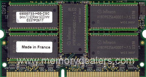 Memory 512MB Cisco Systems MFSC2 Approved Memory Upgrade (p/n MEM-MSFC2-512MB) Router Memory Transceiver Module