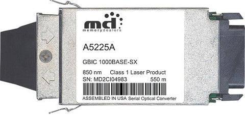 HP A5225A (100% HP Compatible) GBIC Transceiver Module