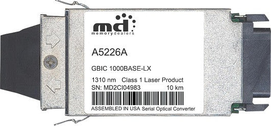 HP A5226A (100% HP Compatible) GBIC Transceiver Module