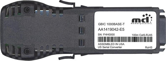 Nortel Networks AA1419042-E5 (100% Nortel Networks Compatible) GBIC Transceiver Module