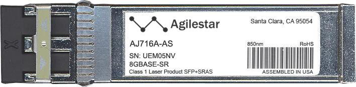 HP AJ716A-AS (Agilestar Original) SFP+ Transceiver Module