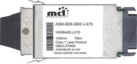 Redback Networks ASM-SE8-GBIC-LX70 (100% Redback Compatible) GBIC Transceiver Module
