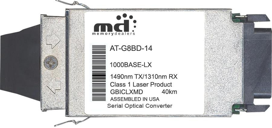 Allied Telesis AT-G8BD-14 (100% Allied Telesis Compatible) GBIC Transceiver Module