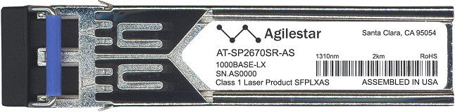 Allied Telesis AT-SP2670SR-AS (Agilestar Original) SFP Transceiver Module