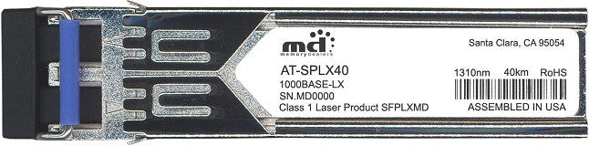Allied Telesis AT-SPLX40 (100% Allied Telesis Compatible) SFP Transceiver Module