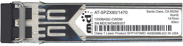 Allied Telesis AT-SPZX80/1470 (100% Allied Telesis Compatible) SFP Transceiver Module