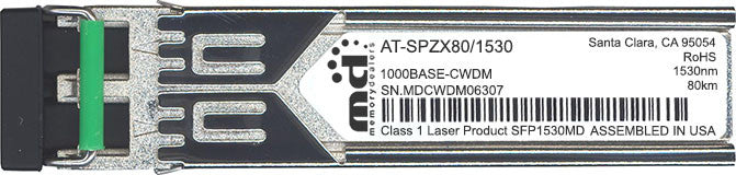 Allied Telesis AT-SPZX80/1530 (100% Allied Telesis Compatible) SFP Transceiver Module
