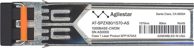 Allied Telesis AT-SPZX80/1570-AS (Agilestar Original) SFP Transceiver Module