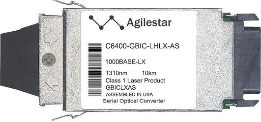 Cisco GBIC Transceivers C6400-GBIC-LHLX-AS (Agilestar Original) GBIC Transceiver Module