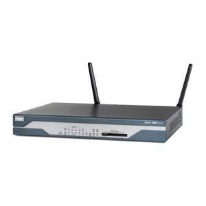 Hardware CISCO1801W-AG-E/K9 - Cisco 1801W, 802.11a+g ETSI Compliant, ADSL/POTS Router Cisco Router Transceiver Module