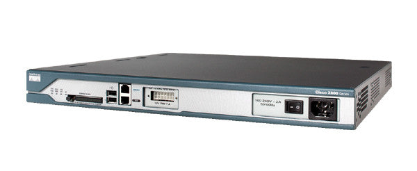 Hardware CISCO2811-DC - Cisco 2811, EN, Fast EN, DC Power, Integrated Services Router Cisco Router Transceiver Module