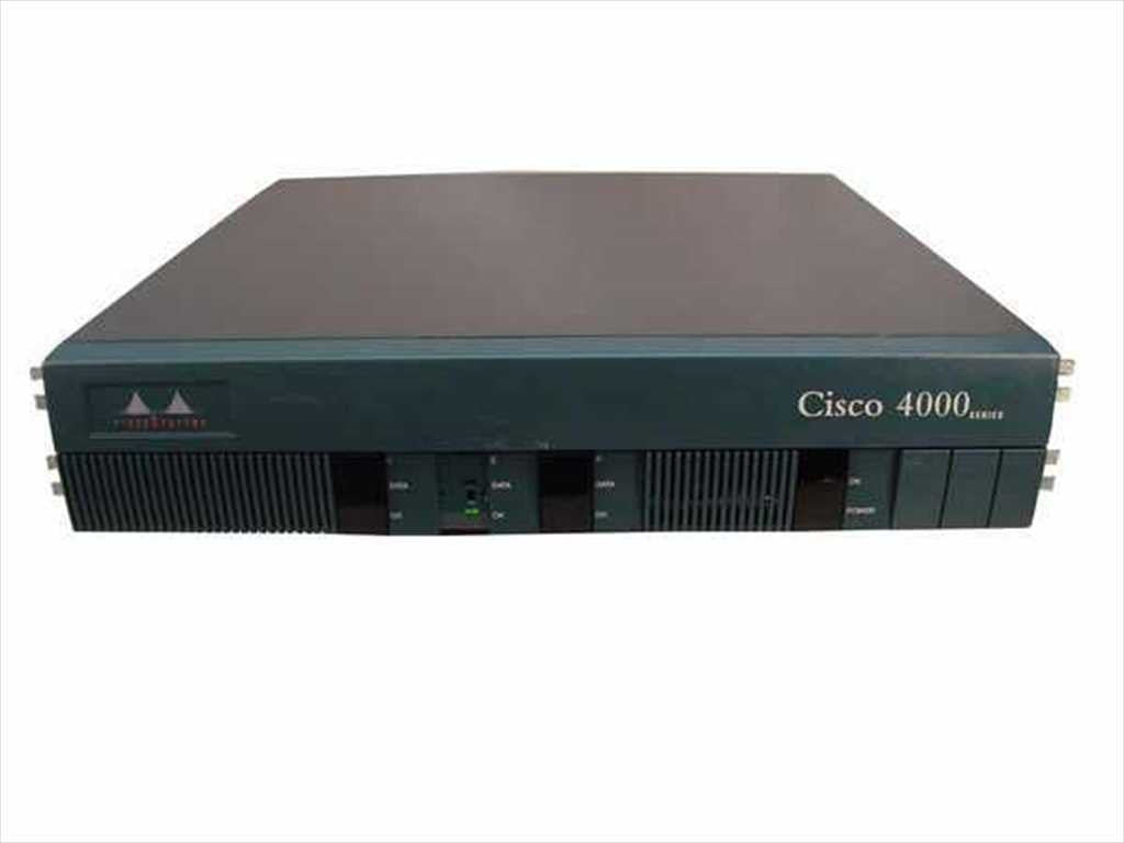 Hardware CISCO4000-M - Cisco 4000-M, 3 Slot Modular Router Cisco Router Transceiver Module
