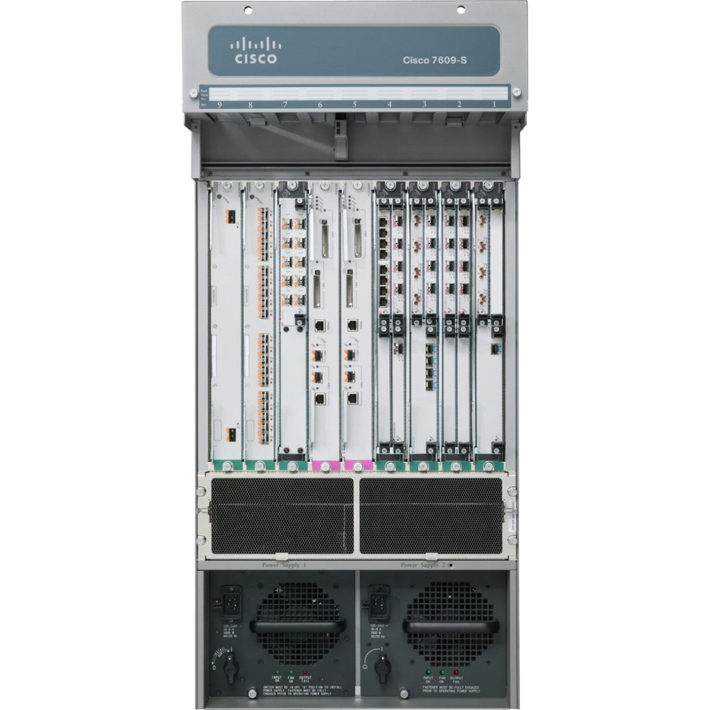 Hardware CISCO7609-S - Cisco 7609-S, EN, Fast EN, Gigabit EN, Modular Expansion Base Router Cisco Router Transceiver Module