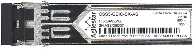 Cisco SFP Transceivers CSS5-GBIC-SX-AS (Agilestar Original) SFP Transceiver Module