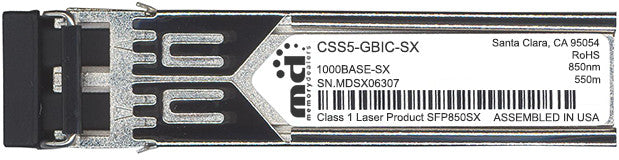 Cisco SFP Transceivers CSS5-GBIC-SX (100% Cisco Compatible) SFP Transceiver Module