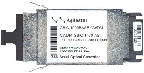 Cisco GBIC Transceivers CWDM-GBIC-1470-AS (Agilestar Original) GBIC Transceiver Module